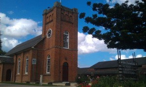 St Peter's Anglican Church opened in 1823