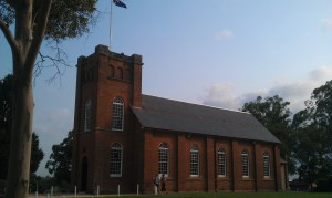St Peter's Anglican Church building