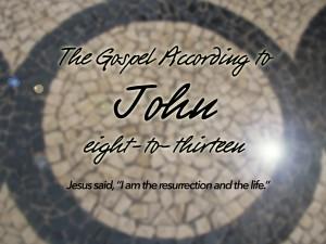 John 8 to 13