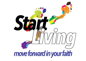 Start Living logo - move forward in your faith