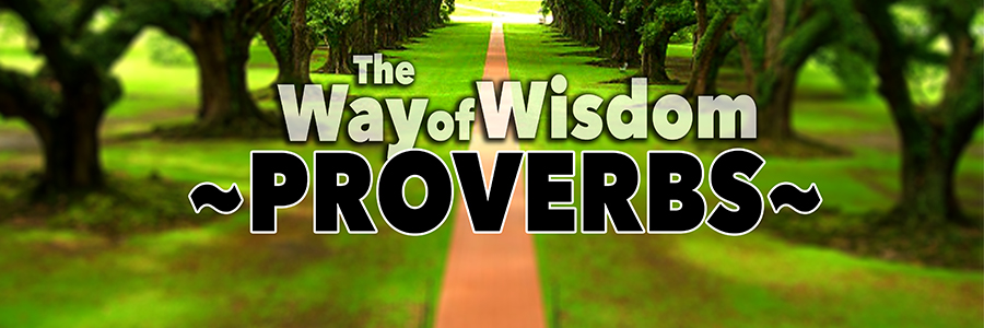 Proverbs - the way of wisdom